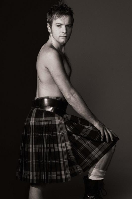 Шотландская мужская юбка называется