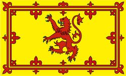 Королевский флаг Шотландии
