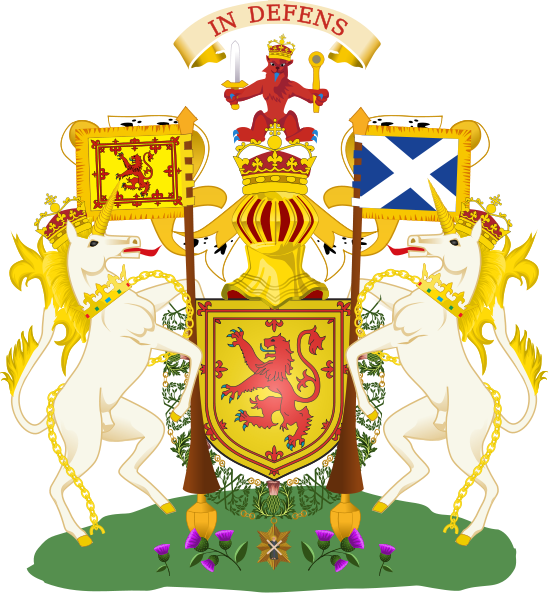 герб шотландии