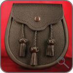 Оригинальные сумки - Меховой спорран.