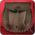 Оригинальные сумки - кожаный спорран