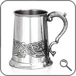 Пивной бокал с кельтским узором