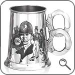бокал для пива с наручниками