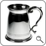 Кружка для пива из олова