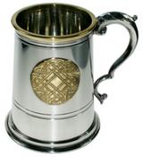 металлическая пивная кружка - танкард