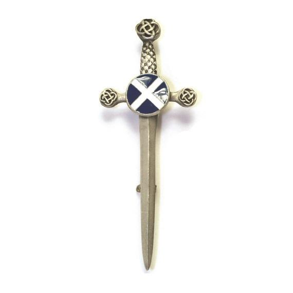 Килтпин «Шотландия» с цветной эмалью