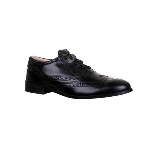 Кожаные туфли «Ghillie brogues» (правый), вид сбоку