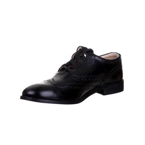 Кожаные туфли «Ghillie brogues». Вид спереди