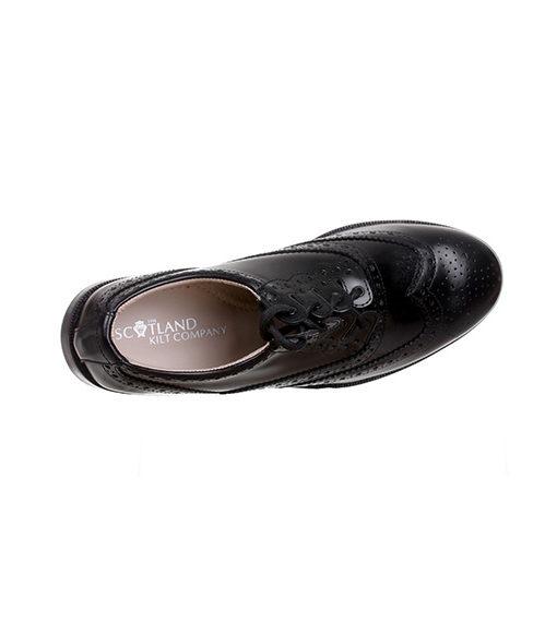 Кожаные туфли «Ghillie brogues». Вид сверху