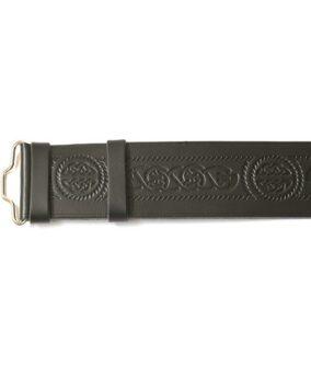 Кожаный ремень GMB017 с кельтскими узлами