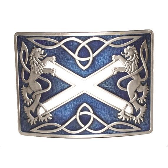 Пряжка GMB20EAS «Шотландия» с синей эмалью