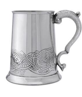 """Пивная кружка English Pewter CEL137 """"Кельтский орнамент""""."""