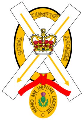 Герб Королевской Компании Лучников