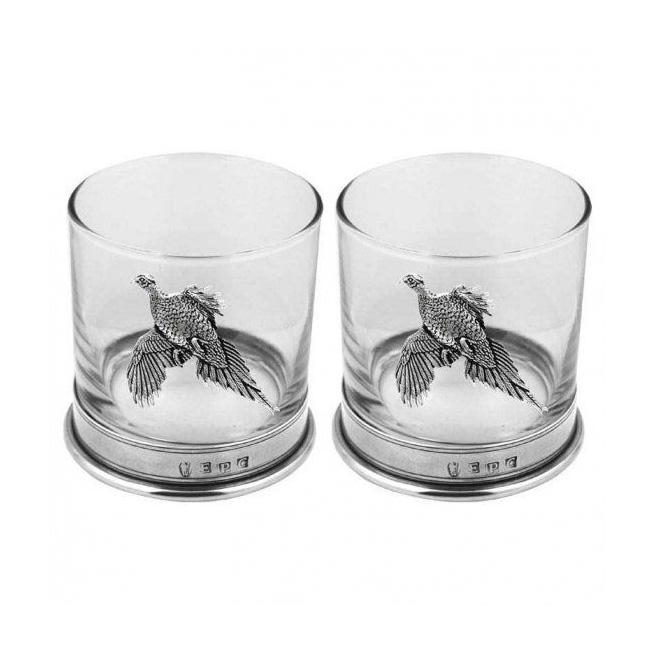 Набор стаканов для виски «Фазан»