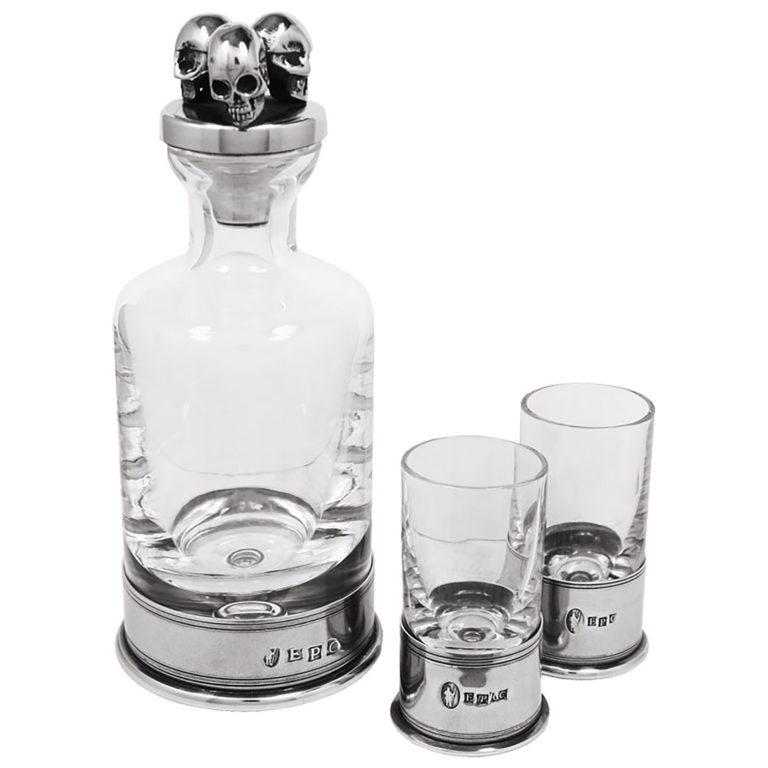 Набор для водки «Череп» English Pewter PG910
