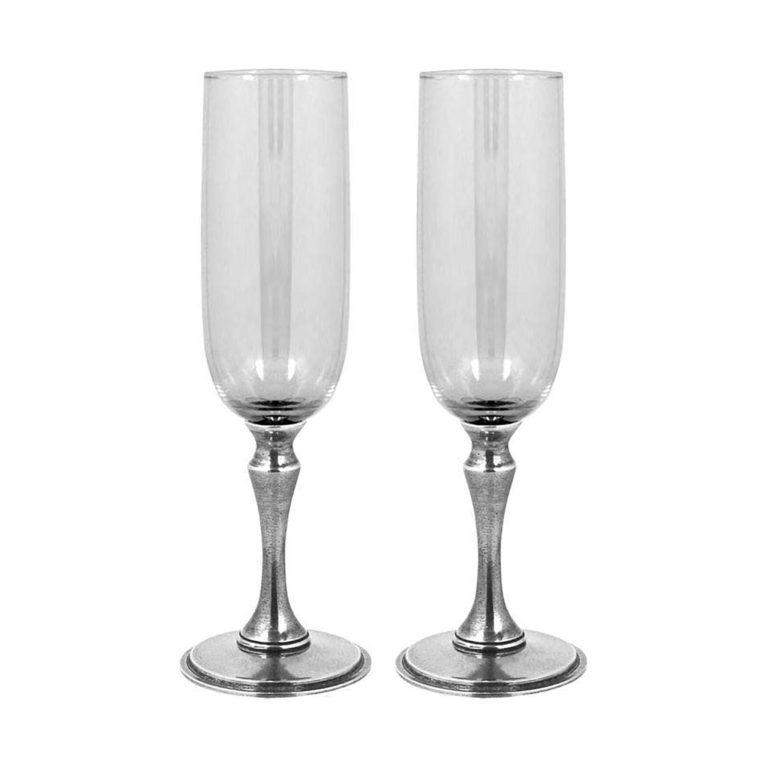 Набор бокалов для шампанского English Pewter VG014