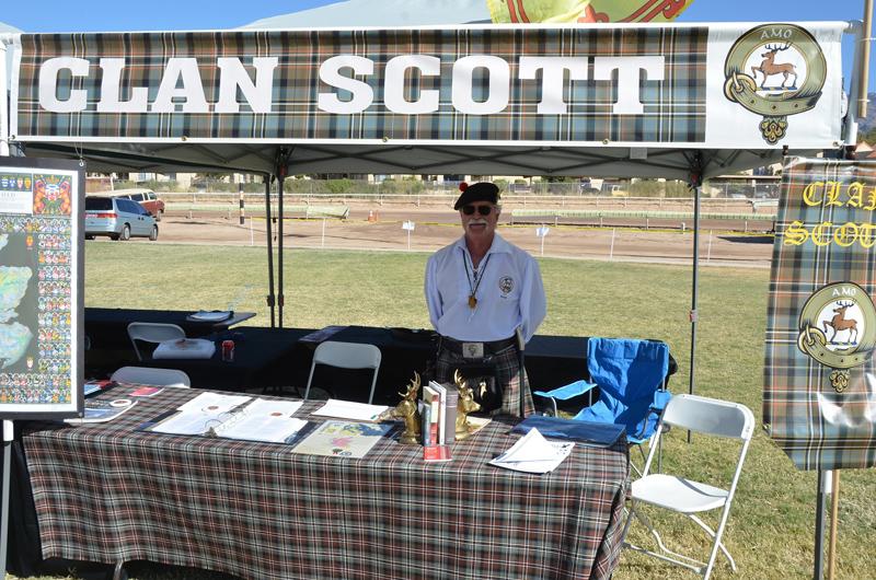 Фестиваль шотландских кланов