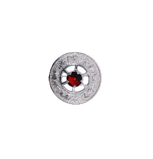 Brooch-red